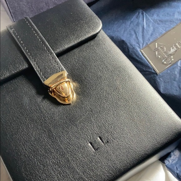 ROYCE Small Leather Travel Pouch